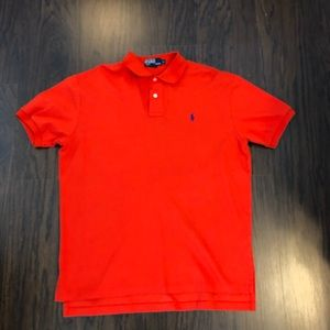 Polo by Ralph Lauren size large orange polo shirt